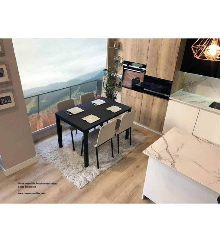 Mesa-cocina-extensible-moderna-encimera-compacto-carbono