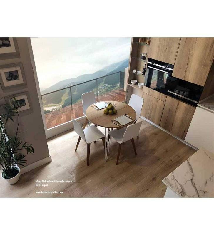 mesas-redondas-blanco-madera