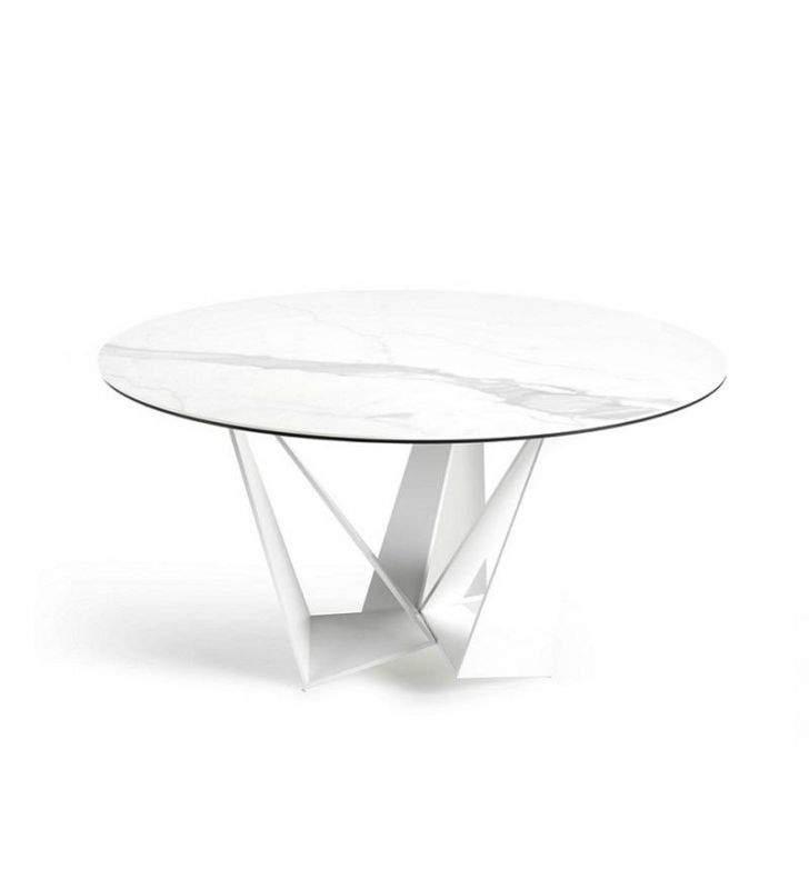 mesas-redondas-blancas-modernas