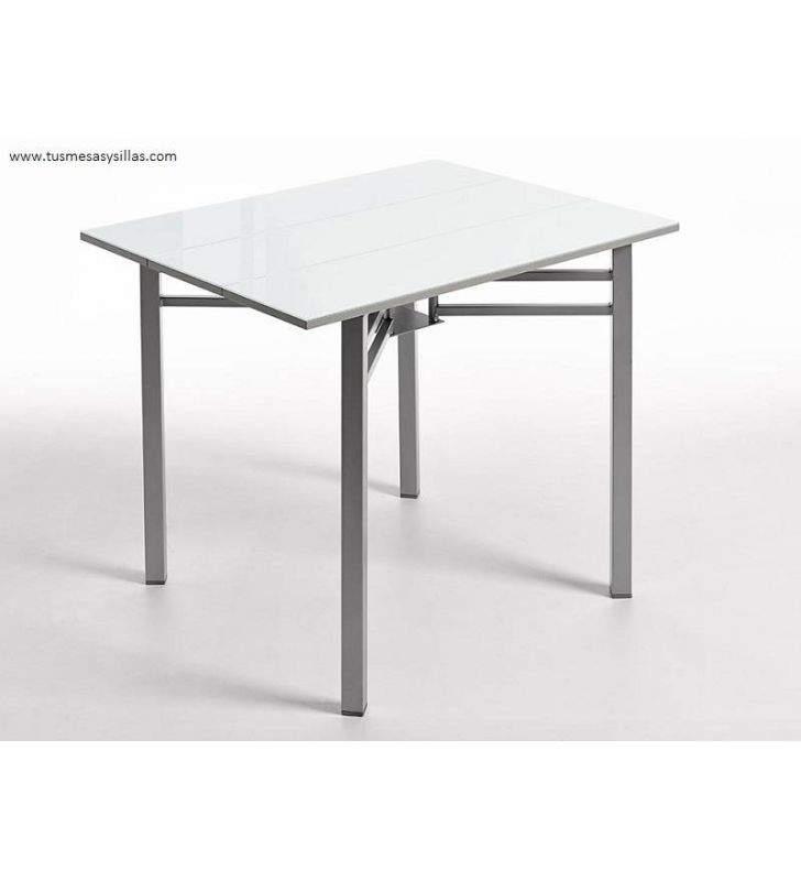 Table de cuisine Florence extensible et étroite avec livraison immédiate