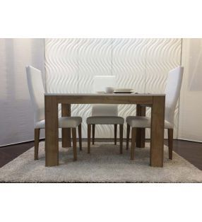 mesa comedor y salón moderna Nordica 3.6 extensible