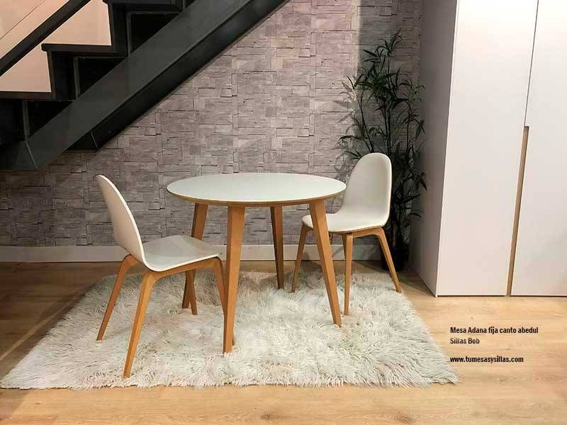 Table ronde Adana style scandinave