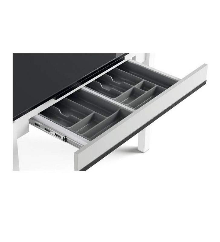 Table extensible avec tiroir de cuisine Complet