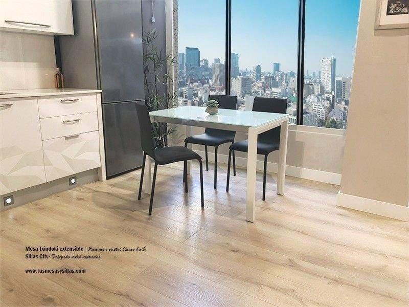 Mesa cocina Txindoki Extensible 130x80 moderna