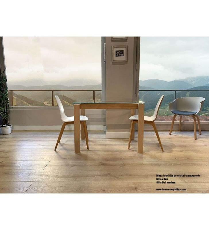 mesa-comedor-madera-cristal
