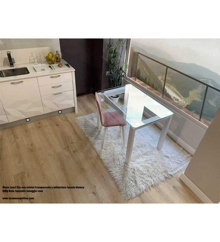 mesas-comedor-blancas-cristal