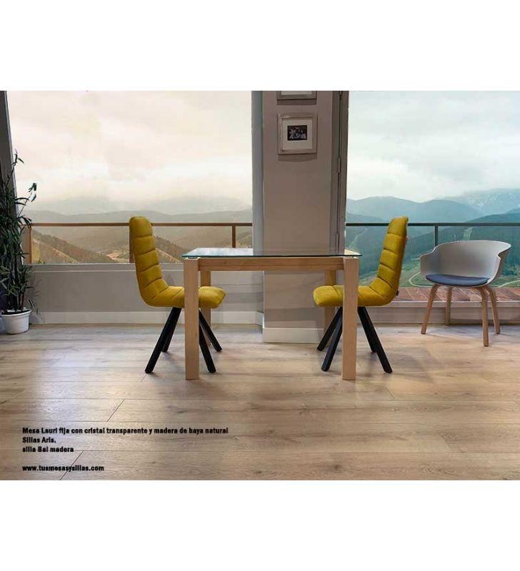 silla-comedor-acolchada-moderna