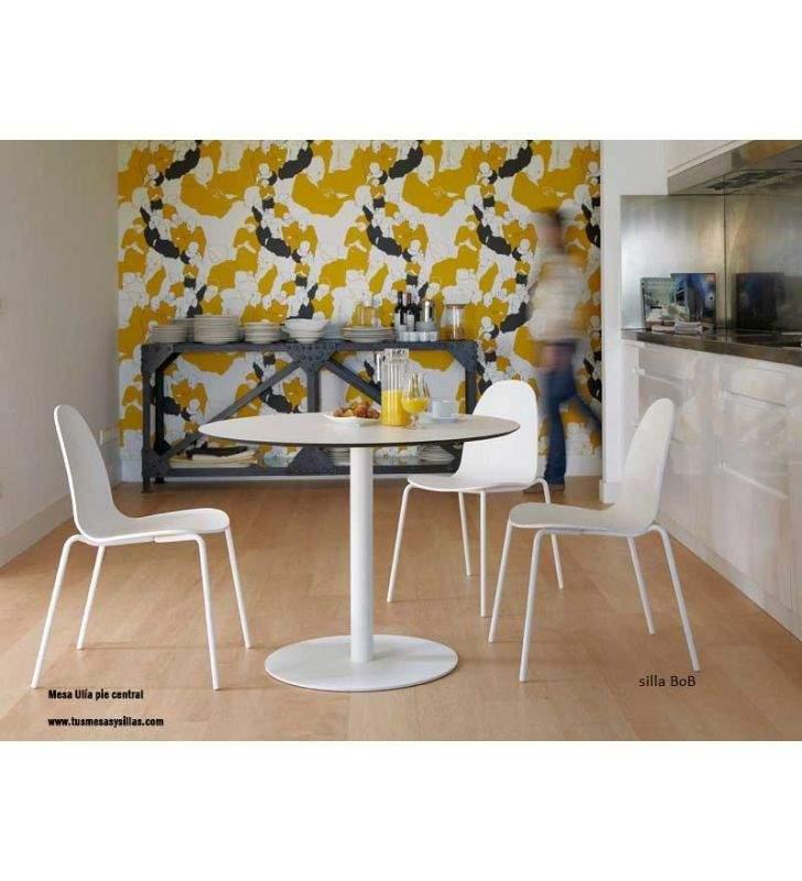 mesa-redondeada-blanca-moderna