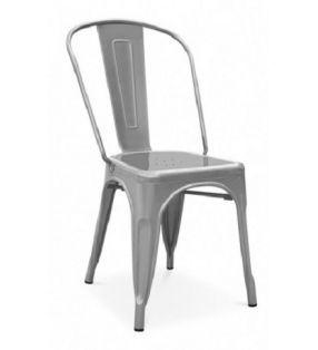 silla cocina comedor Tolix acero