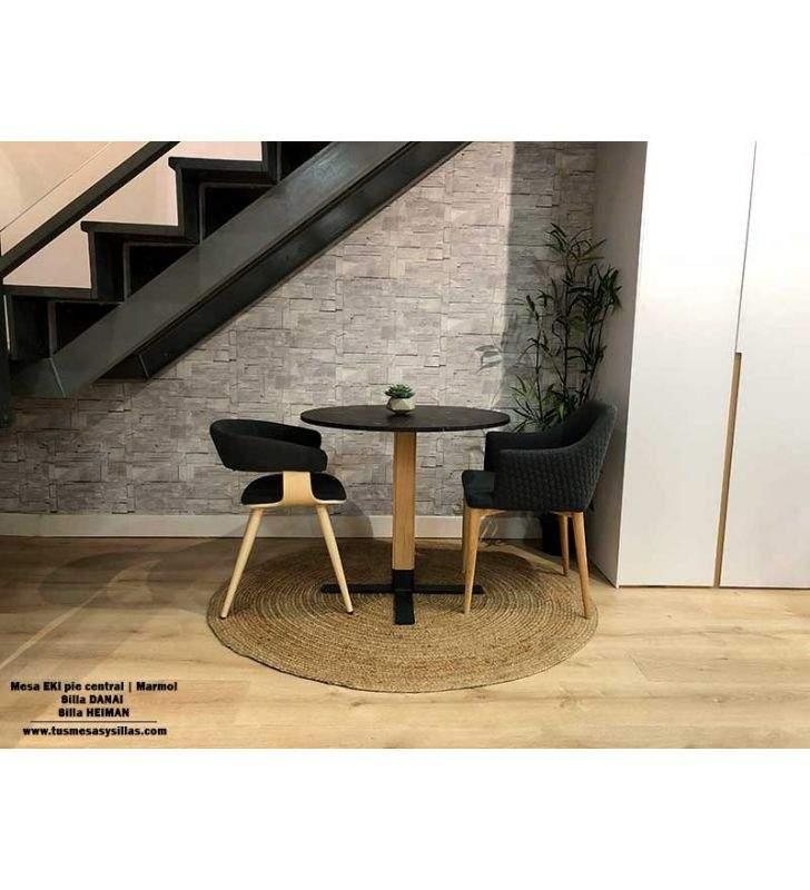 mesas-redondas-pequeñas-negras