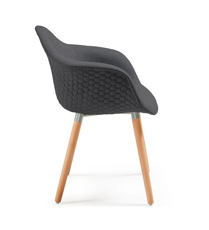 silla-gris-oscuro-kave-home