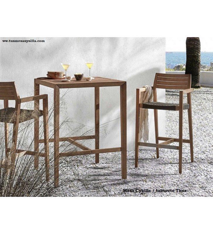 mesas-altas-cuadrada-80 cm-terraza