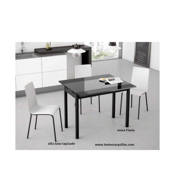table-étroite-en-verre-flavia