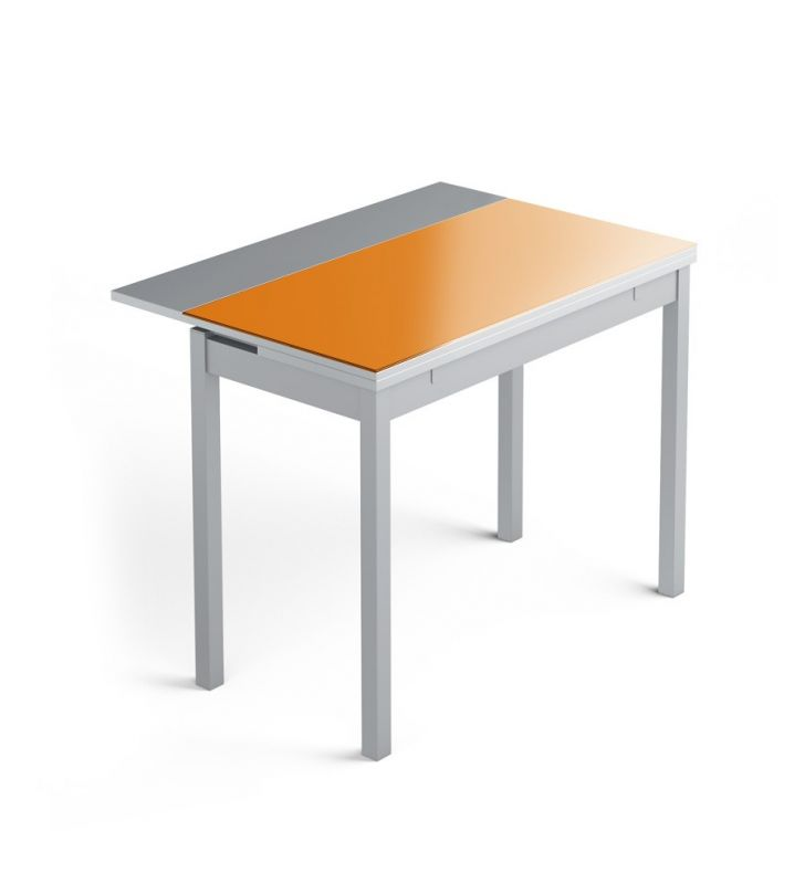 table-étroite-extensible-orange