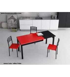 chaise-febe-siège-rouge