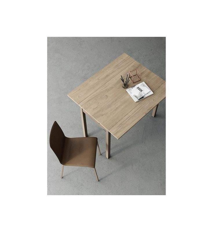 table-étroite-plan de travail-blanc