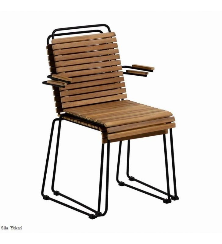 sillas-modernas-apilables-apoyabrazos
