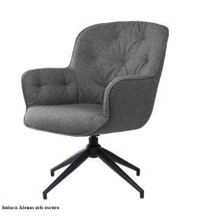 fauteuil-rembourré-pivotant