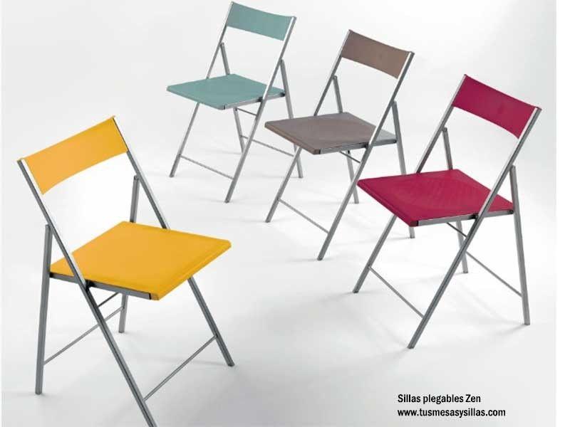 silla plegable fit en acero y plastico para comedor o cocina fuertes y bonitas - Ideas de decoración de artículos plegables