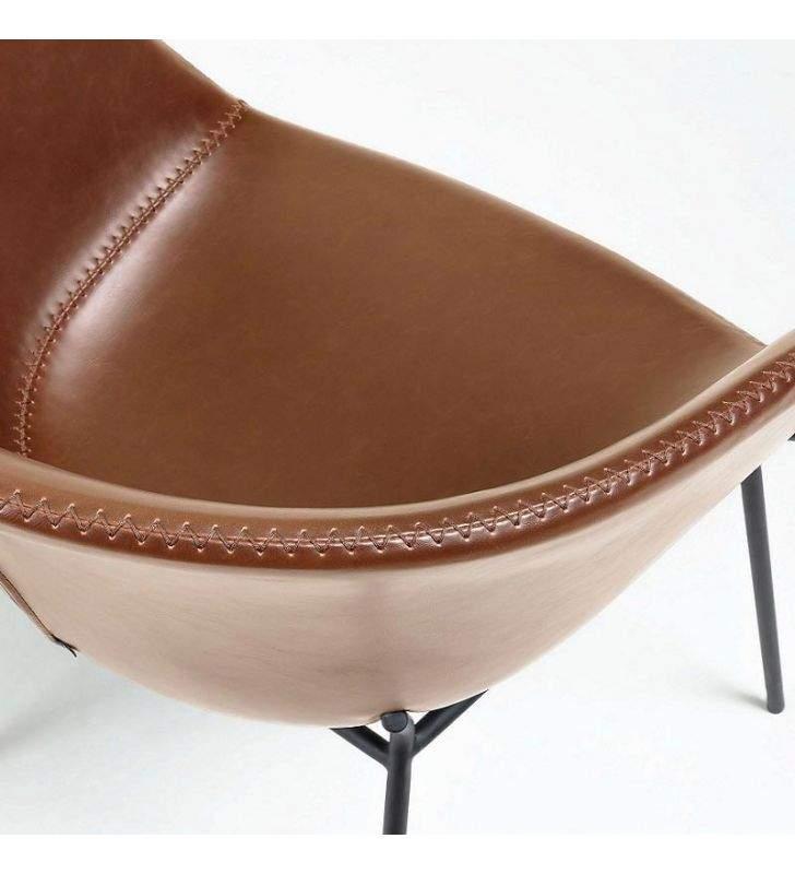 sillas-asiento-tapizado-marron