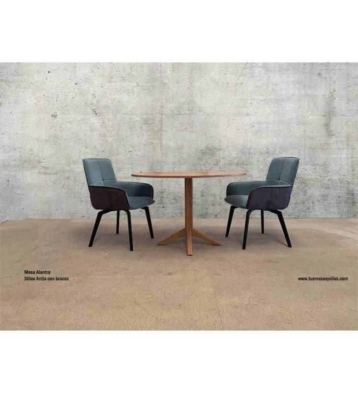 mesas-comedor-madera-redondas