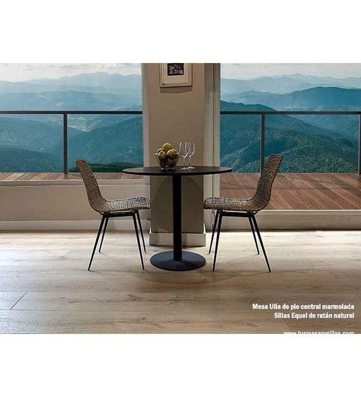 mesa-redonda-negra-moderna