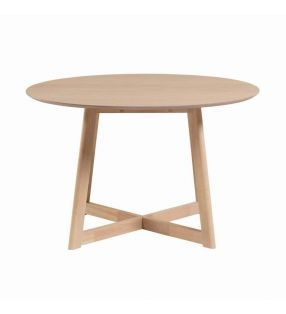 table-ronde-bois clair