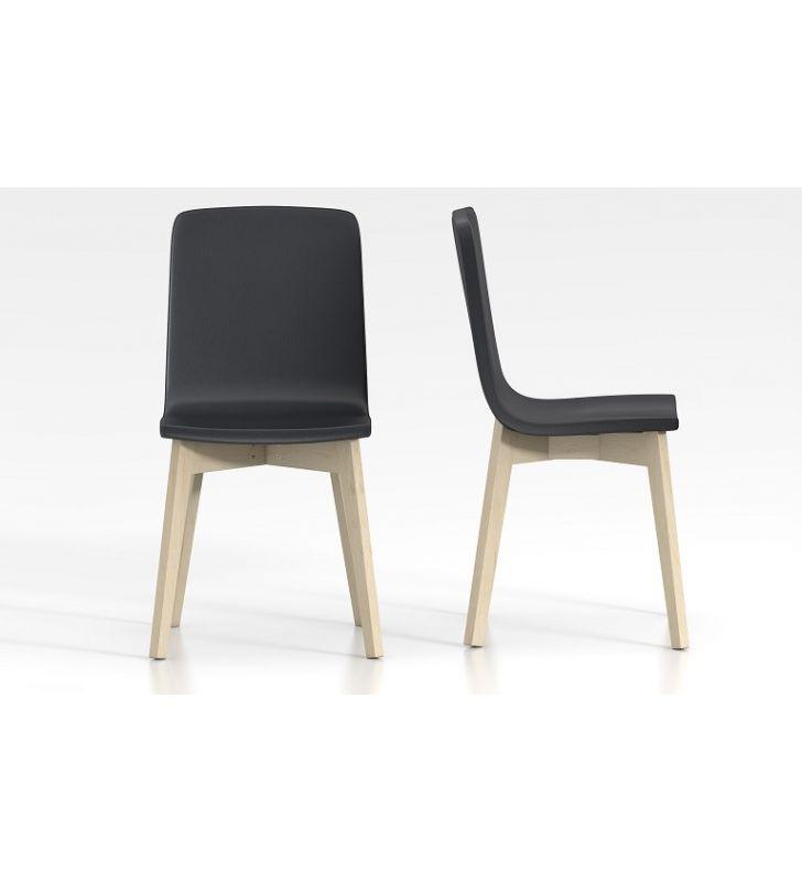 silla eclipse foam de cancio patas madera
