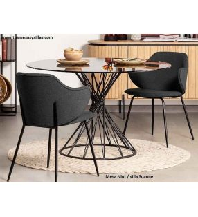 table-ronde-vintage-niut