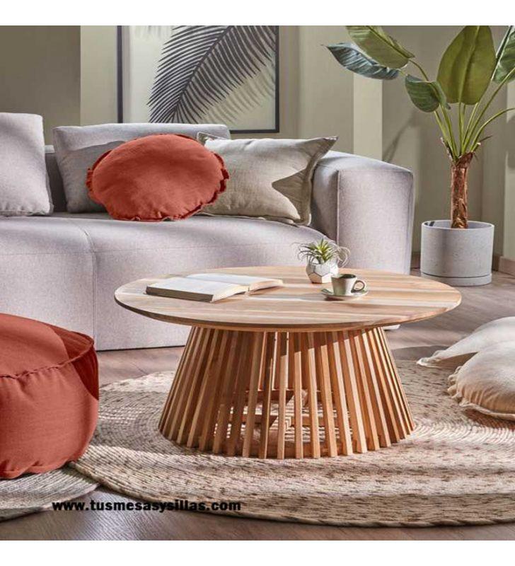 Mesa-redonda-madera-Irune