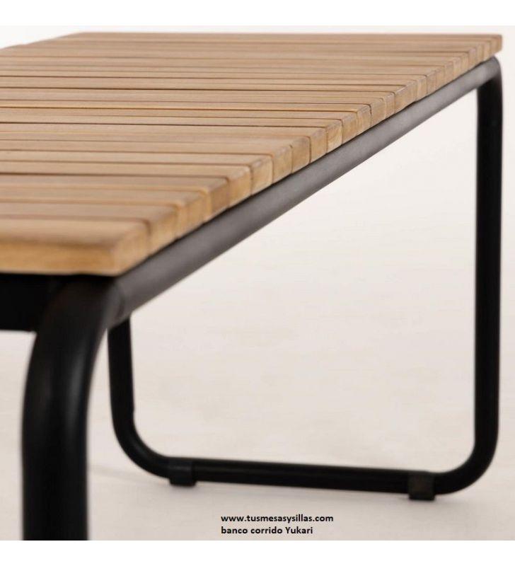 asiento-madera-patas-metálicas