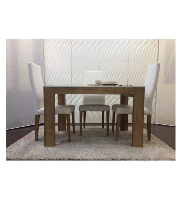 Mesa extensible moderna de comedor y salon