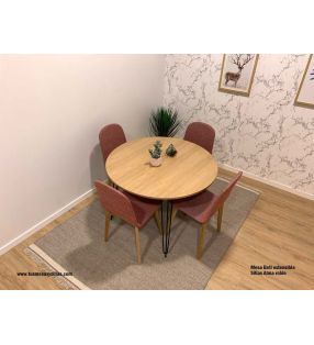 mesa-comedor-redonda-industrial-extensible