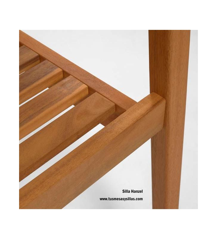 Silla Hanzel madera maciza de acacia