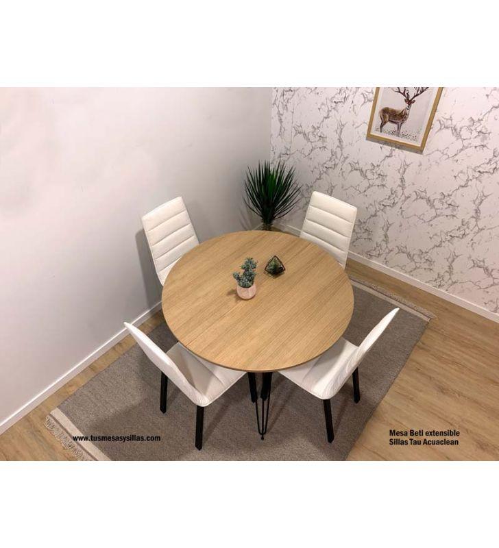 mesa-sillas-cómodas-Beti-Tau