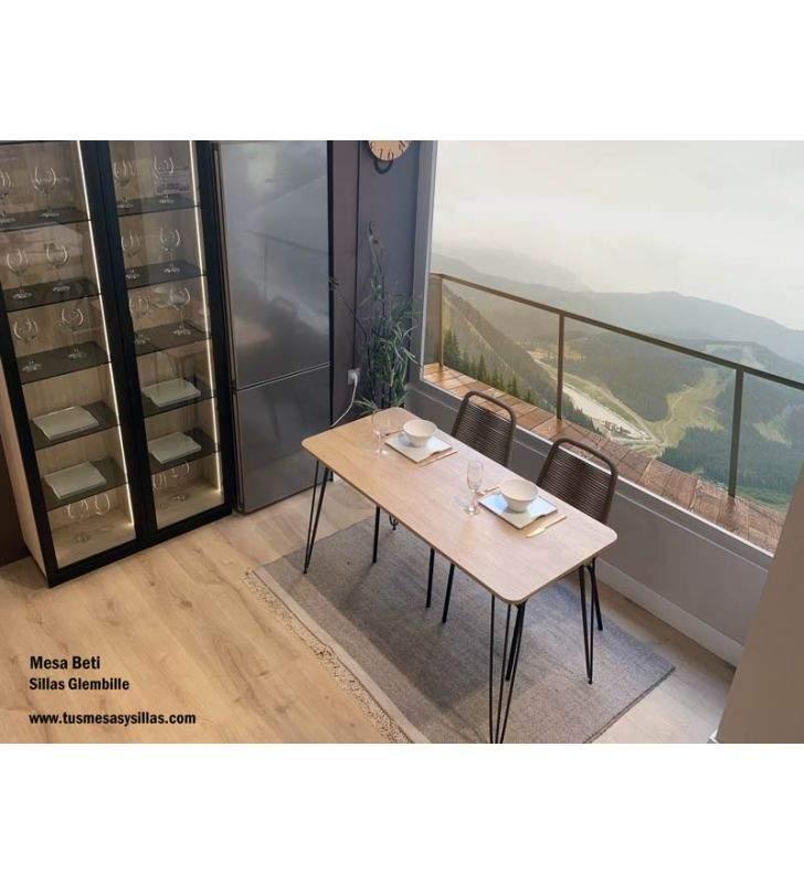 mesa sin esquinas Beti industrial