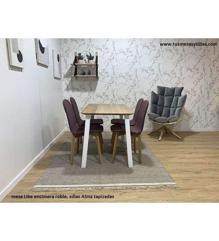 mesas-sillas-roble-diseño-moderno