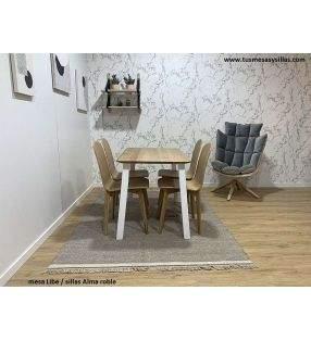 mesas-sillas-roble-modernas
