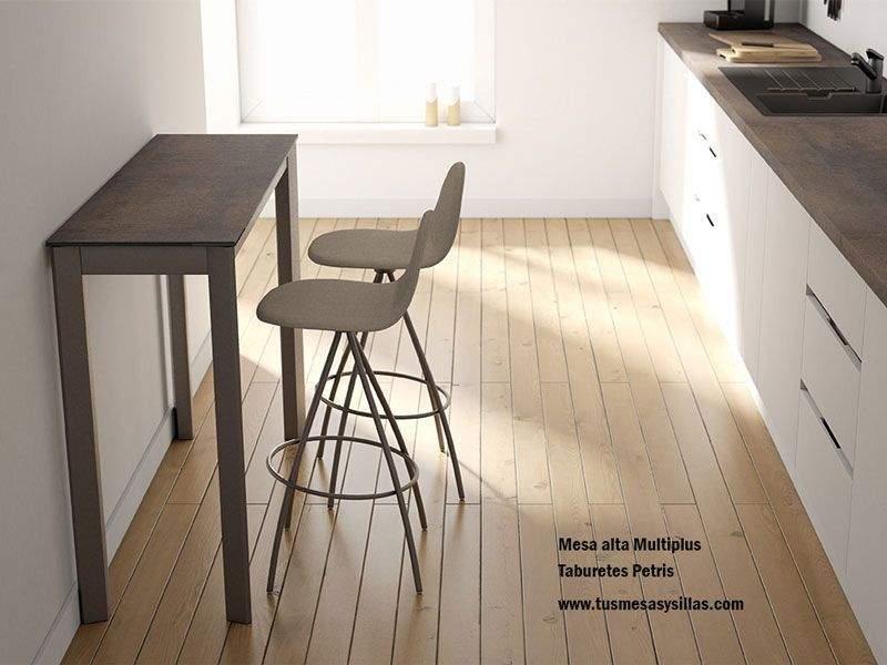 Barra cocina estrecha Multiplus Cancio fondo 35-40 encimera laminado
