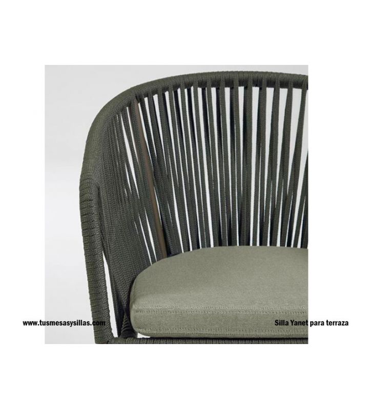 sillón-terraza-cuerda-verde