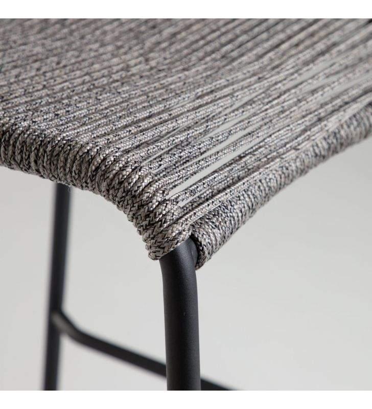asiento color gris