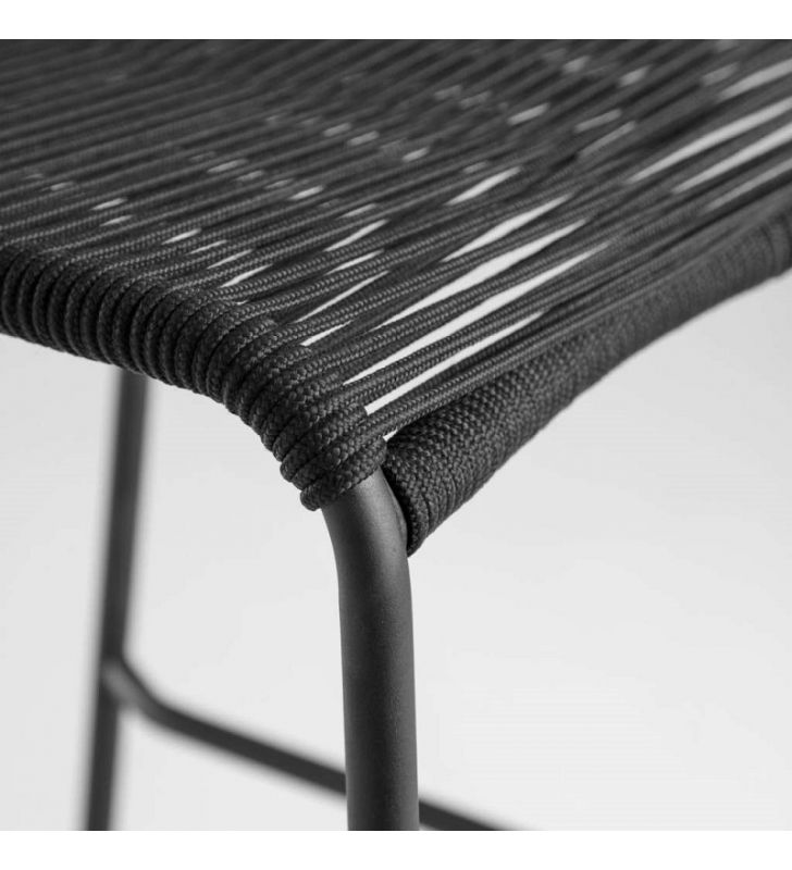 asiento color negro