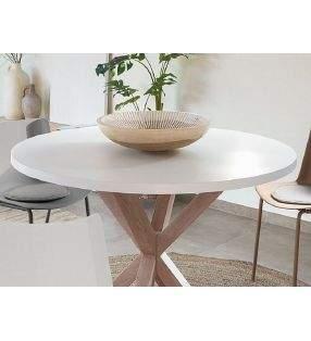 Mesa-redonda-blanca-roble