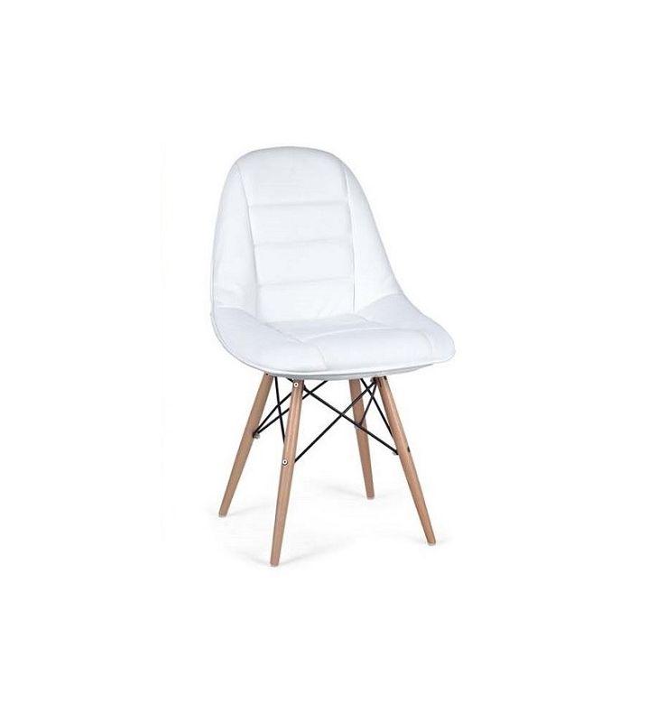 silla helem tower tapizada patas madera
