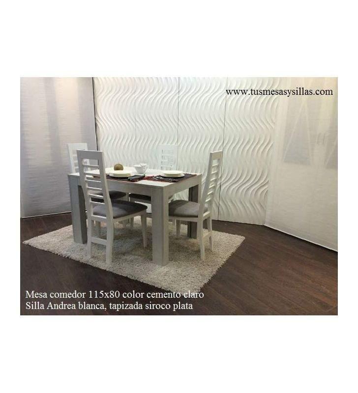mesa comedor fija moderna a medida