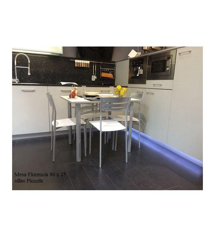 mesa cocina pequeña alas Florencia 95 x25 cm