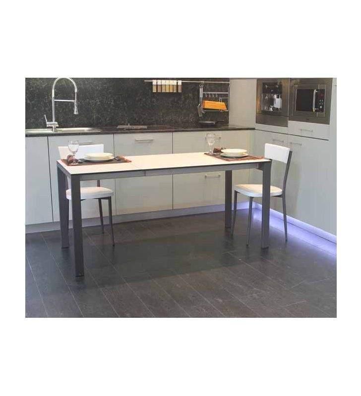 mesa cocina extensible Punto Ondarreta 110x70