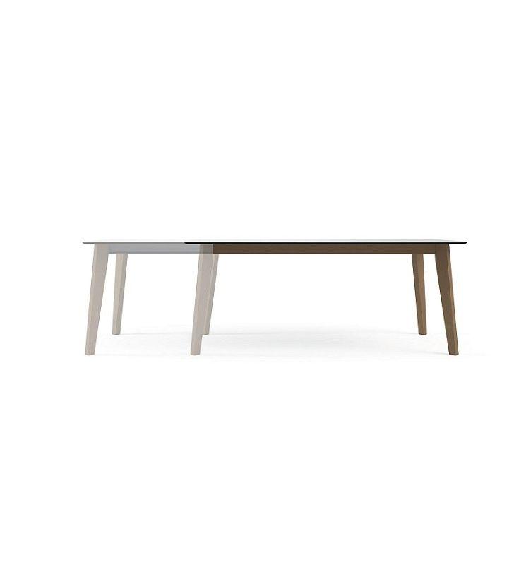 mesa extensible moderna Eclipse vetas de cancio estilo nordico