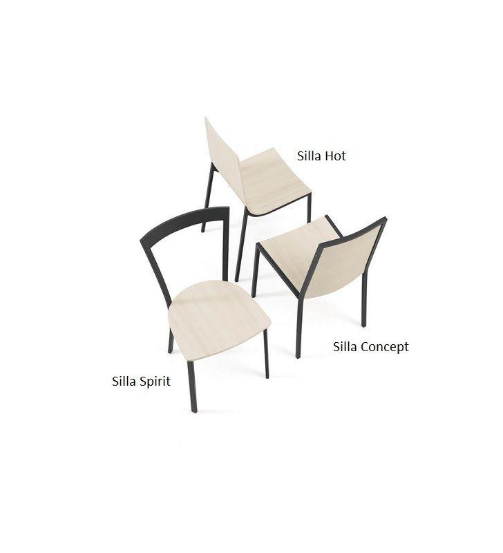 Silla cocina Concept de Cancio Veta, estilo nórdico