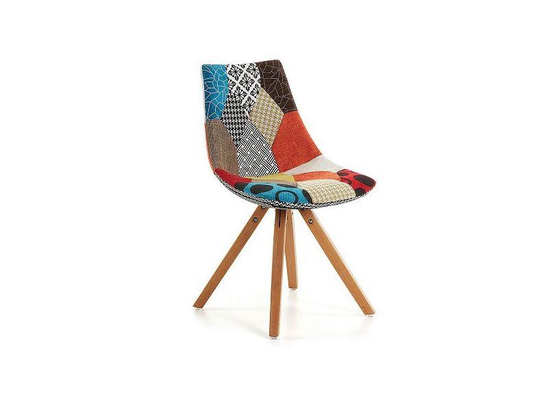 Silla Armony tapizado Pacthwrok tipo Tower eames